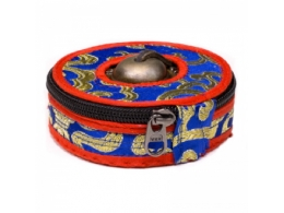 Kott Tiibeti kelladele - sinine-punane - 7,5-8 cm - VIIMANE